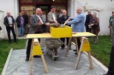 9.Oktober 2015 I Grundsteinlegung der Wohnhausanlage in Münchendorf